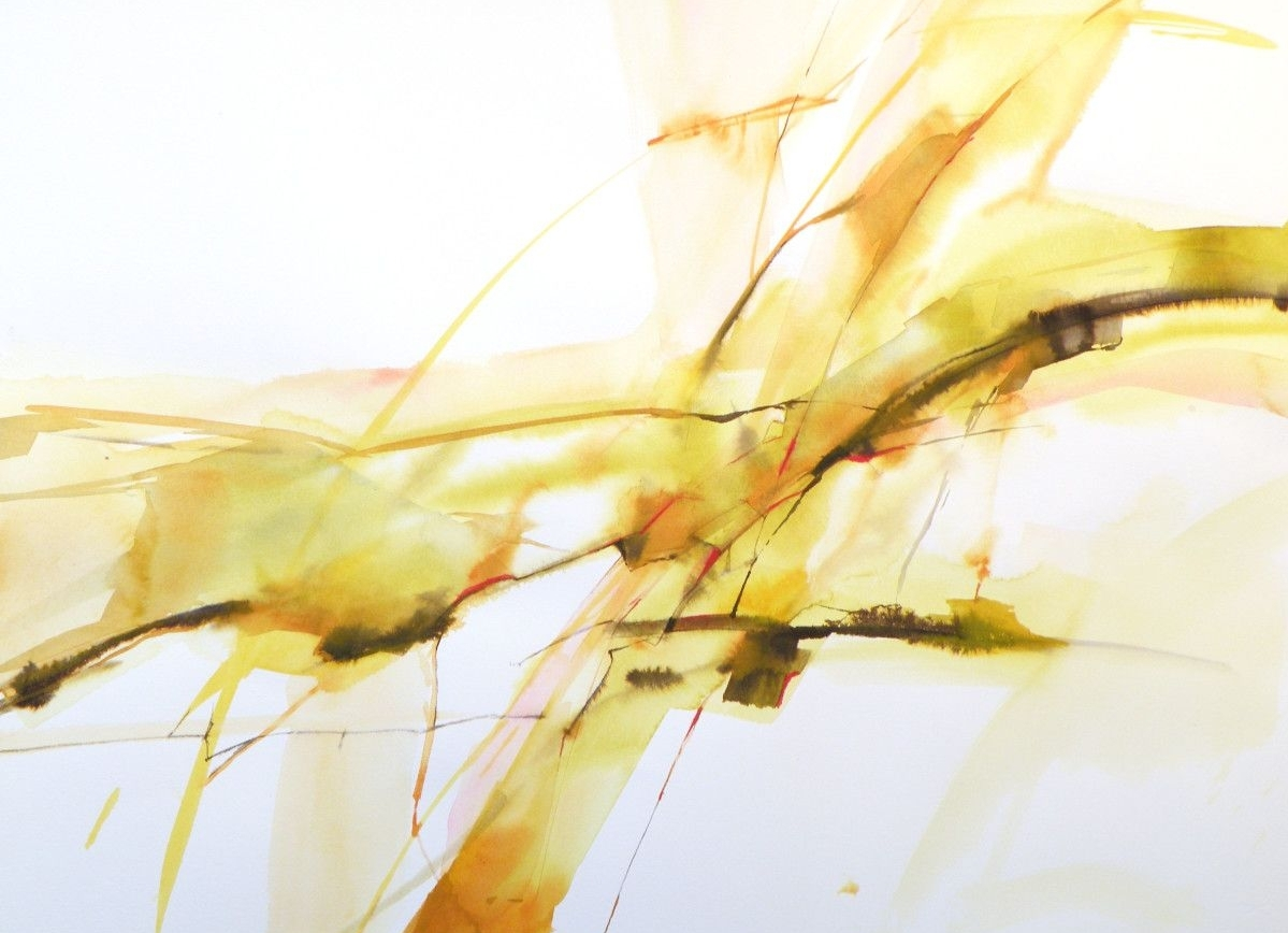 Valentina Atkinson, TEO 1, 2013, Watercolor and Ink, 22 x 30 in.