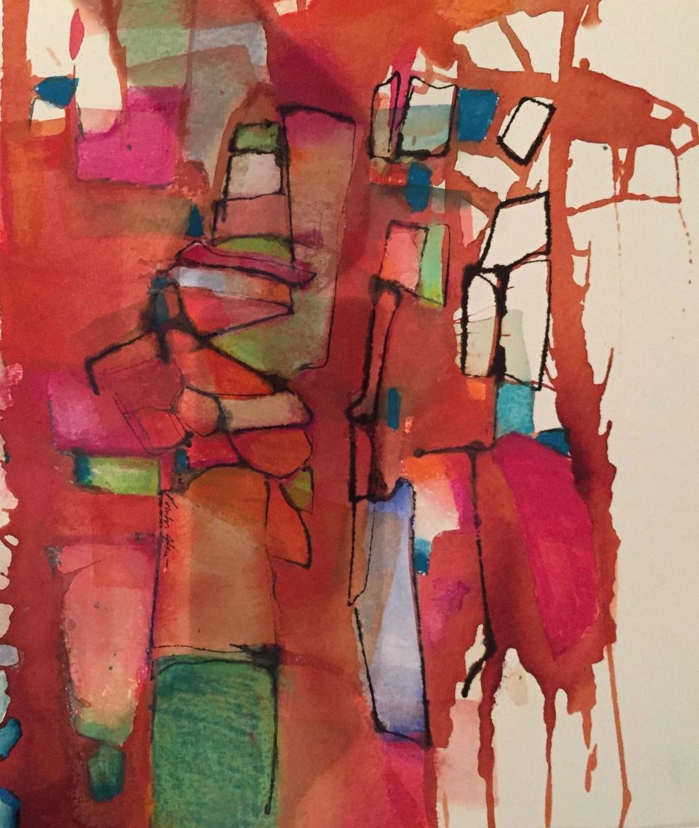Valentina Atkinson, Loma Bonita, Watercolor and Pastel, 16 x 12 in.