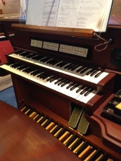 ALC Organ Console