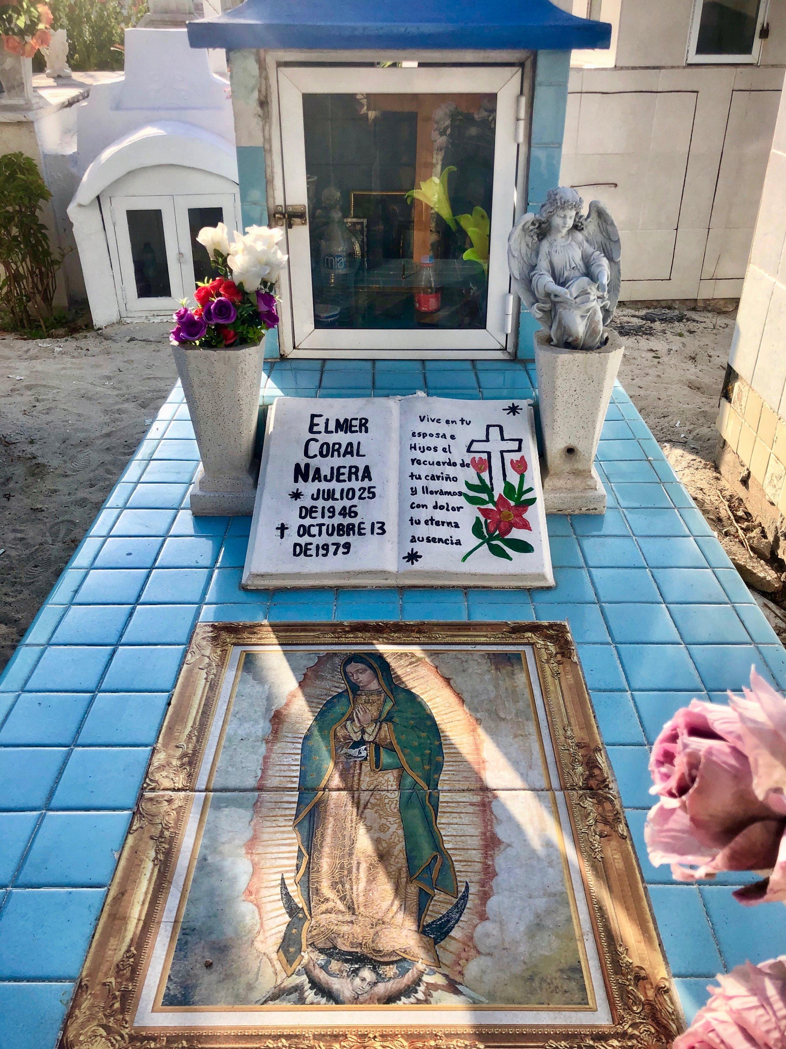 Isla Mujeres, Mexico ~ Cemetery