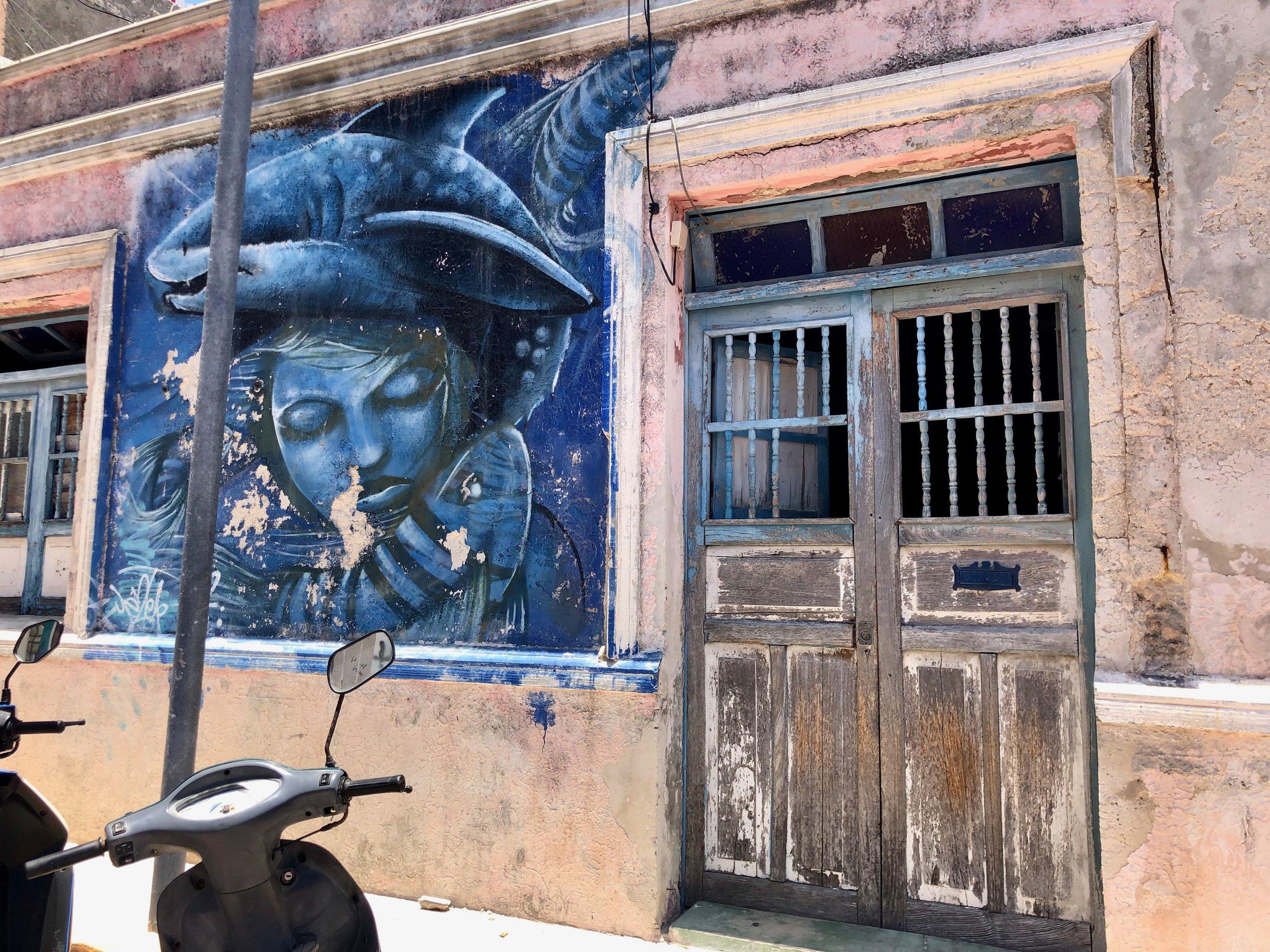 Street Art, Isla Mujeres Centro