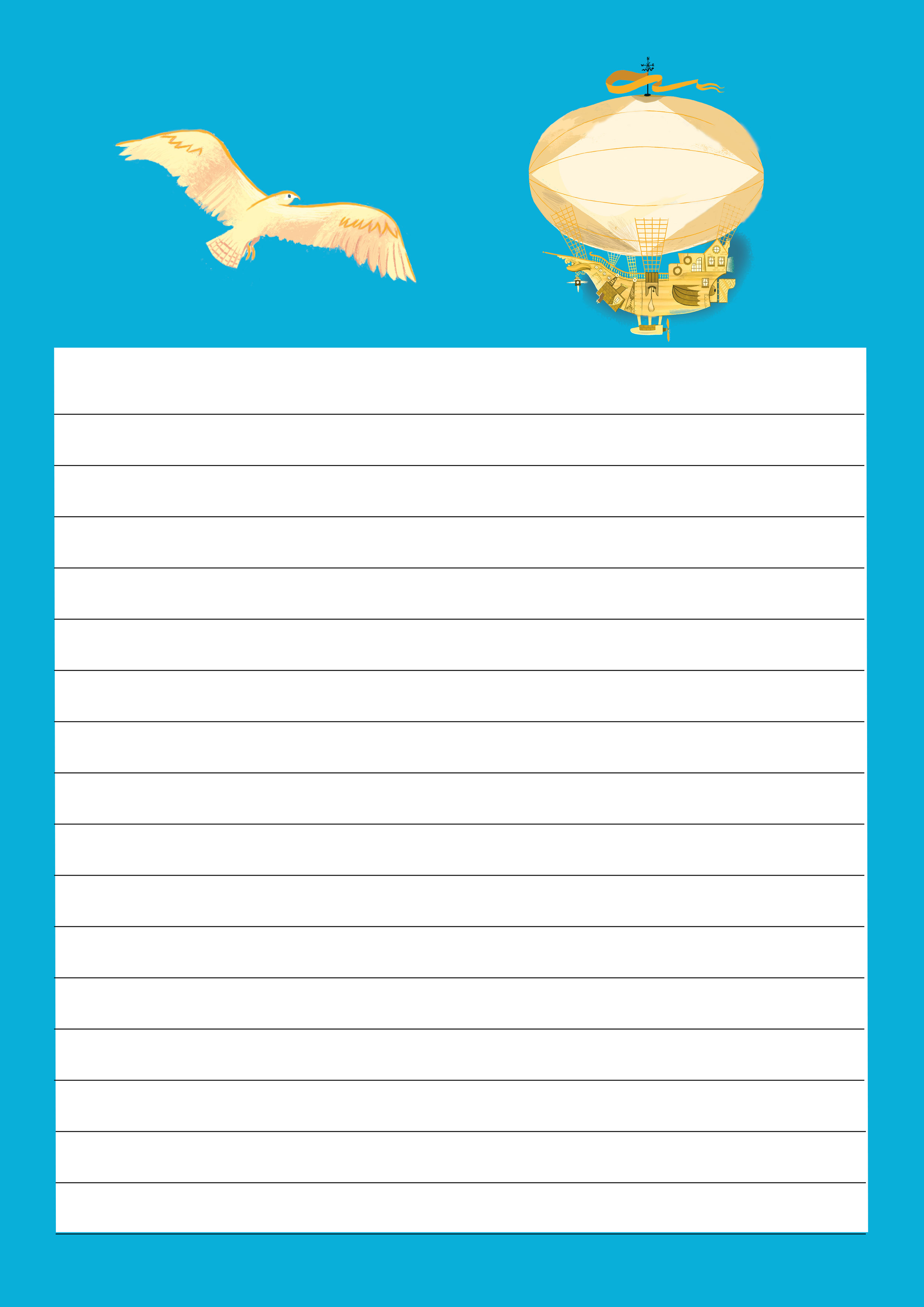 Download Brightstorm lined paper template > -