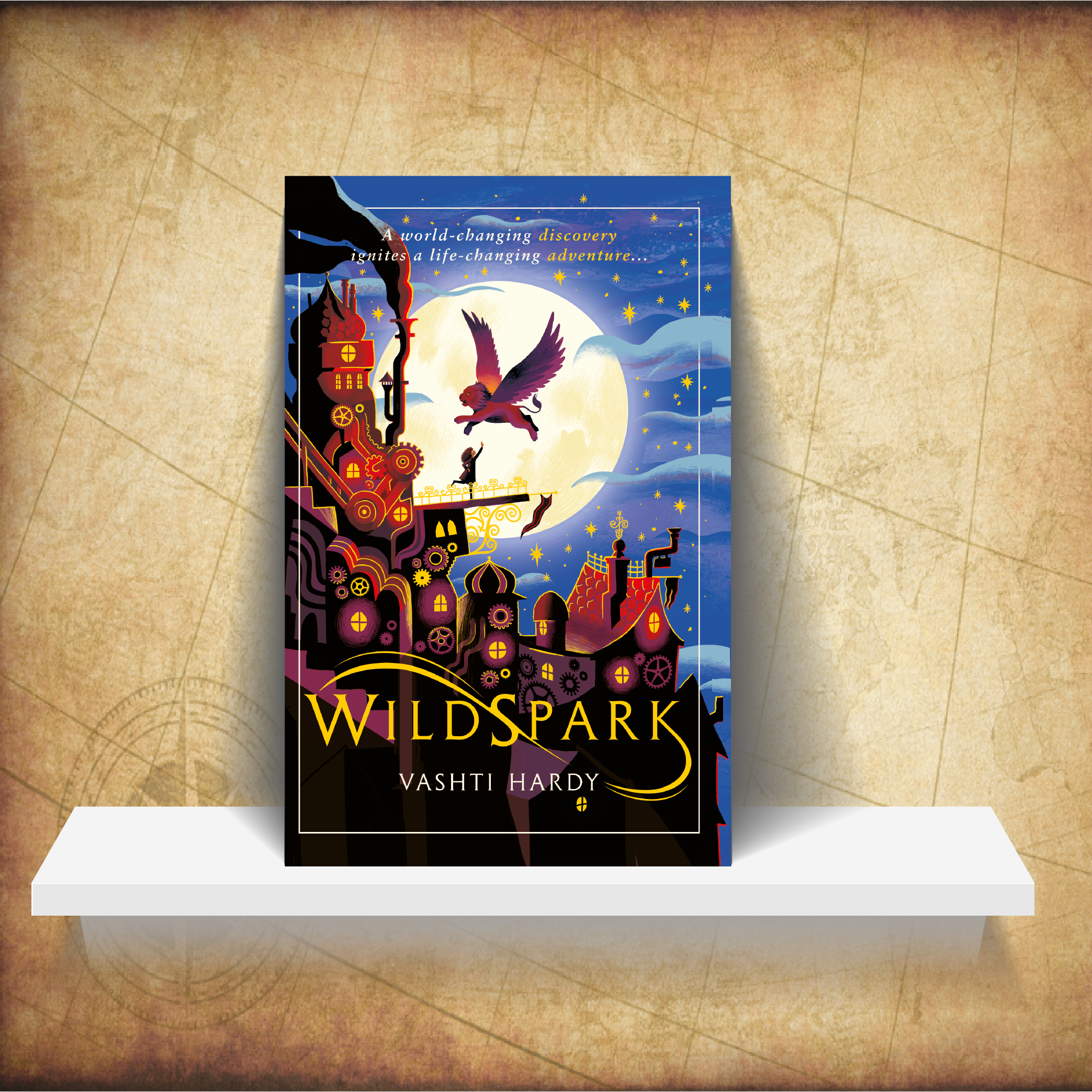 Wildspark - In Medlock, machines don't come to life – life comes to machines.A secretive guild of inventors have brought spirits of the dead back into the world, harnessing them in animal-like machines. Young Prue has joined as an apprentice, but she's on a mission of her own: to bring her brother back to life. To find him, she needs to get the ghost machines to remember the people they used to be…