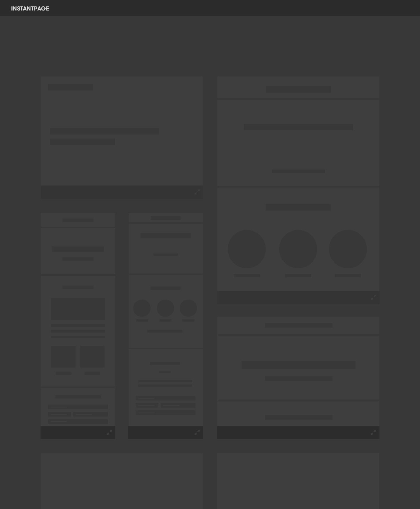 Bringing the drop off down to 7% - User testing to determine best layout for design gallery