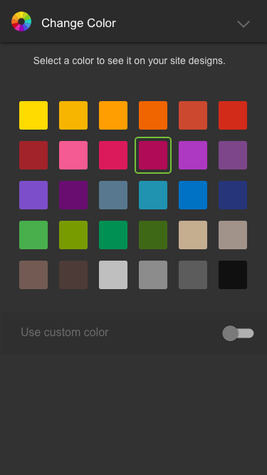 Color Exploration - User testing to determine how and if users wanted to apply a color during onboarding