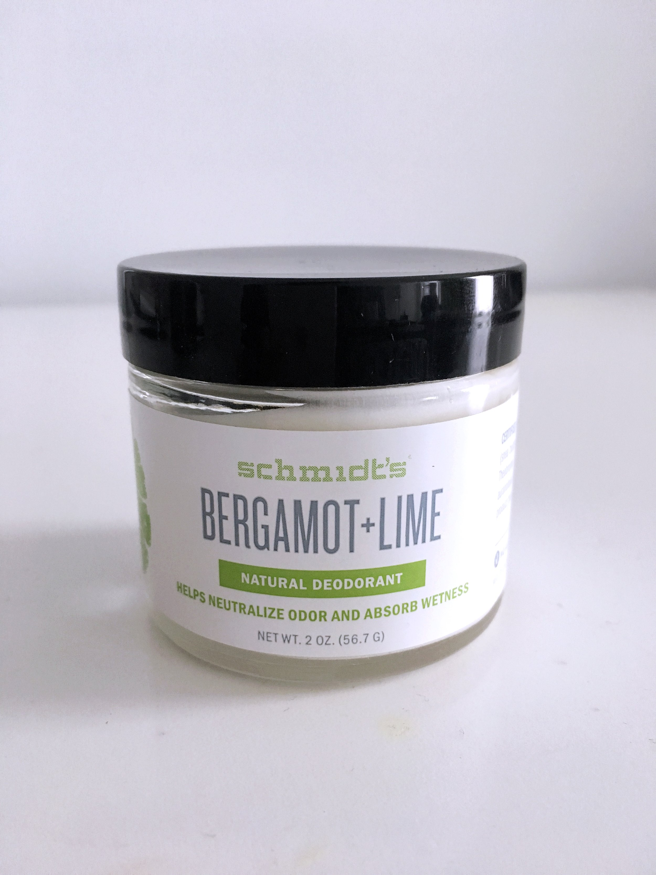 REVIEW: Schmidt's Bergamot and Lime Natural Deodorant -