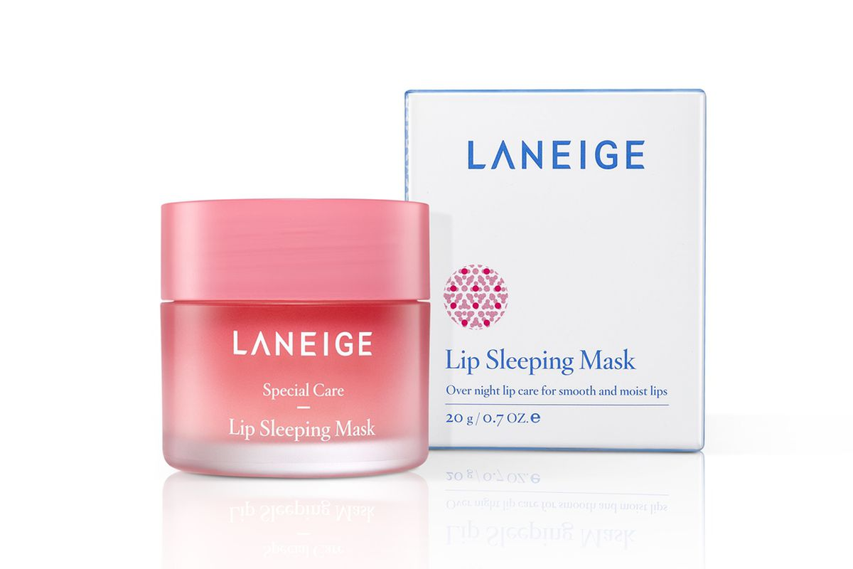 Laniege Lip Sleeping Mask - This sweet, berry lip mask mask works while you sleep. Wake up to shiny, plump, smooth lips, a lip makeover in just 8 hours.Laneige Sleeping Lip Mask $28.88 CAD