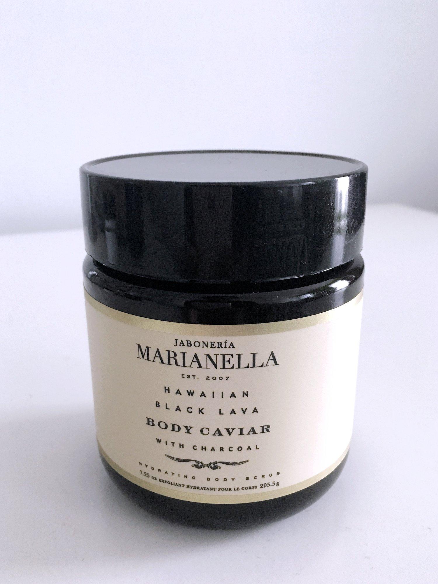 Hawaiian Black Lava Body Caviar from Jaboneria Marianella