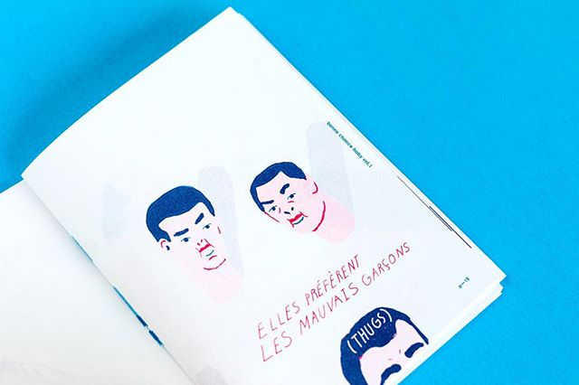 Voici un aperçu du premier zine que j'ai fait à vie et la première fois que je faisais un projet en riso. Avec le fameux @pnriou et notre projet @bonnechancebaby.⠀ -⠀ Here's a sneakpeek of the first ever zine I made and the first project I made in risography. With @pnriou and our project @bonnechancebaby.⠀ ⠀ - ⠀ #risography #studio #zine #mtl #design #mileend #art #bonnechancebaby