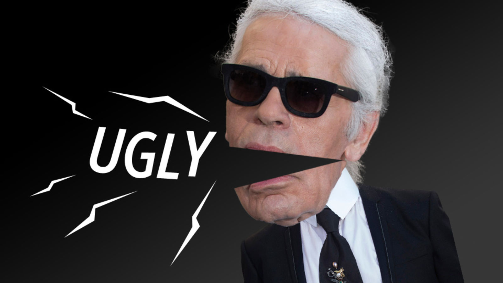 Photo courtesy of  Jezebel's awesome article  about Karl. Be sure to go over and give it a read so you can get an idea of why we think he can just fade away.