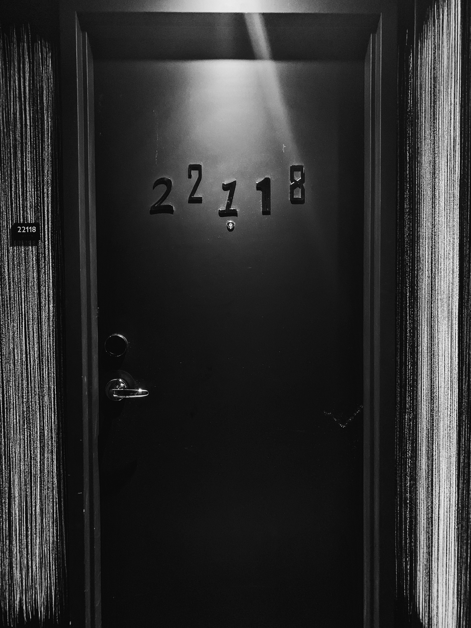 And if you are a MFM (My favorite Murder) Fan, you would flip out when you saw the doors. Surely you can see why.