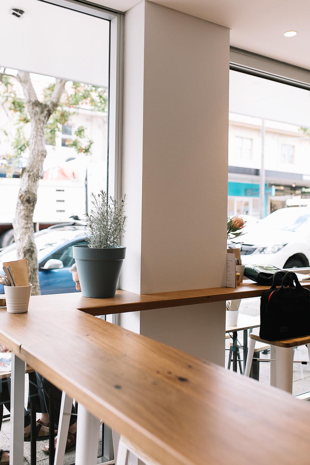 custom wrap around window bench for clodeli