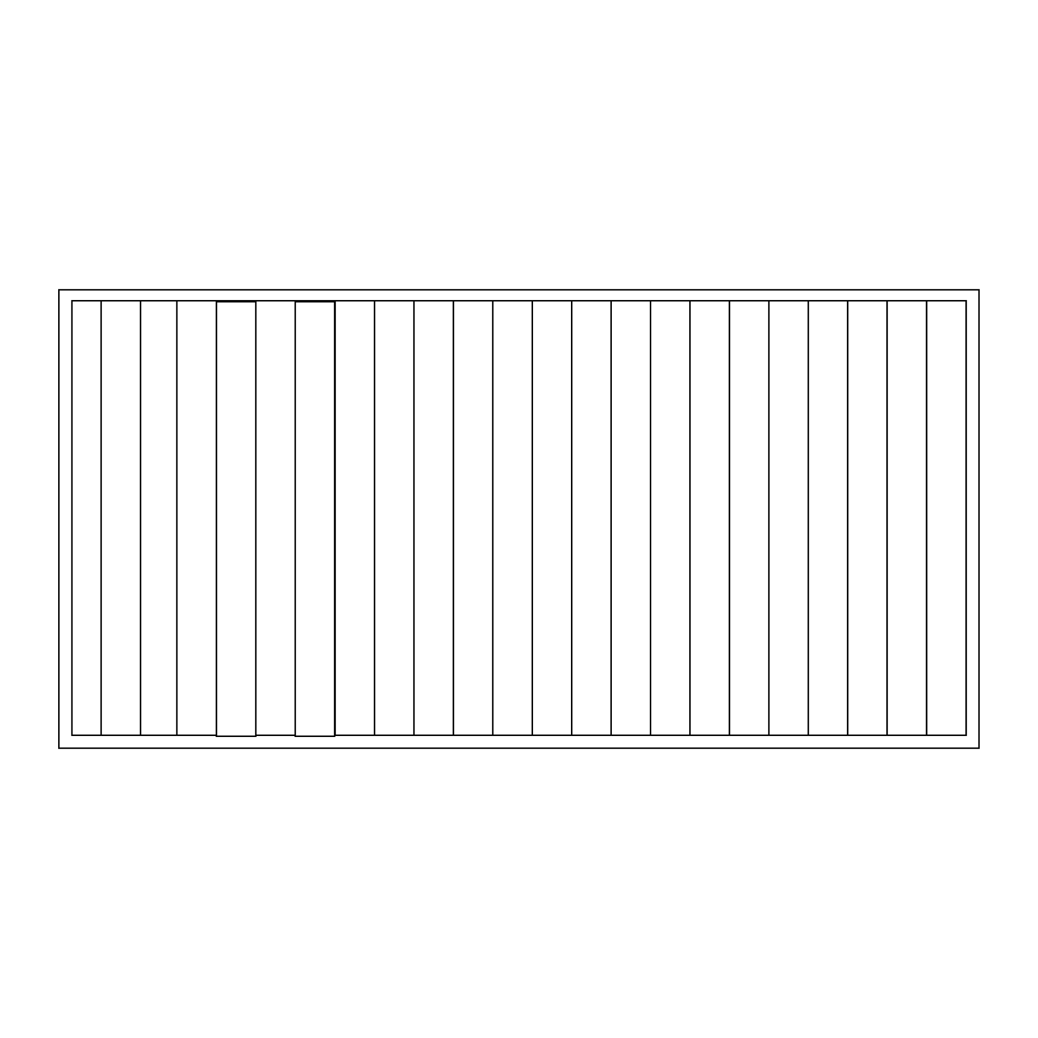 BENEFIELD | SOLID BORDER WITH PANELLED INLAY (I & O)