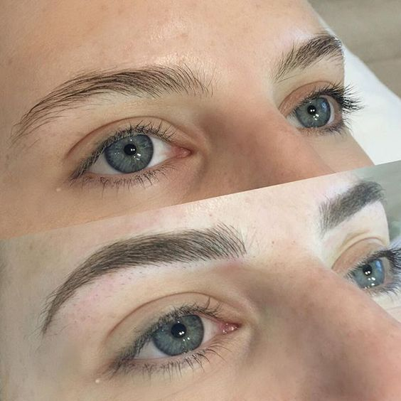 FEATHER BROWS - $550   This cosmetic tattoo procedure is semi-permanent and involves placing natural looking hair strokes back into the brows to create an everyday flawless look.