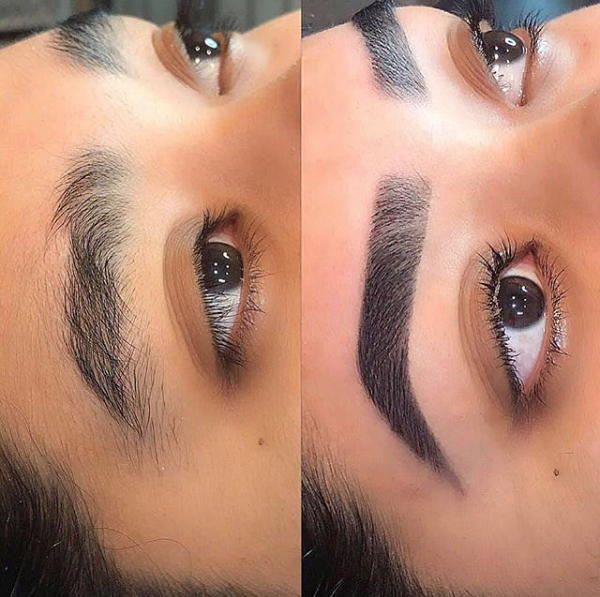 LUXE BROW TREATMENT - $90   This deluxe treatment begins with a brow exfoliation, pressure point massage and under eye treatment to rejuvenate the skin. We then style your brows to perfection with a wax, tweeze, trim, thread and tint.  Relax and enjoy this ultimate brow experience.  *Henna extra $10