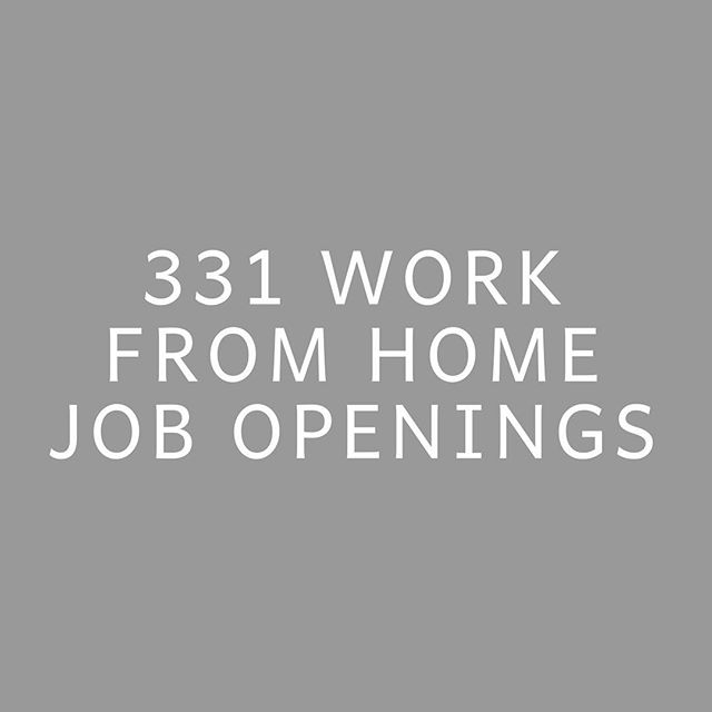IN FEBRUARY ALONE. 331 work from home job openings were shared with the women enrolled in our course + community during the month of February! 😭🙌🏾 . 148 of those were shared with everyone enrolled, 79 were shared with gals who had previous design experience, 44 with those who've spent years in corporate marketing, 30 with those who had previous email marketing experience, 19 with those who have prior Ads experience, 18 with finance backgrounds, 16 with prior writing experience, & 7 with real estate backgrounds! 🤩 When women enroll in our community, I immediately have them fill out a form where they share their areas of prior experience, as well as what their goals are for picking up work from home roles! It always feels so fun to get to send job opportunities to specific people based on where their past skills and future interests are. 🙌🏾 .  I'm loving watching the gals in our community get after these roles, as many landed gigs in February too! 🎉