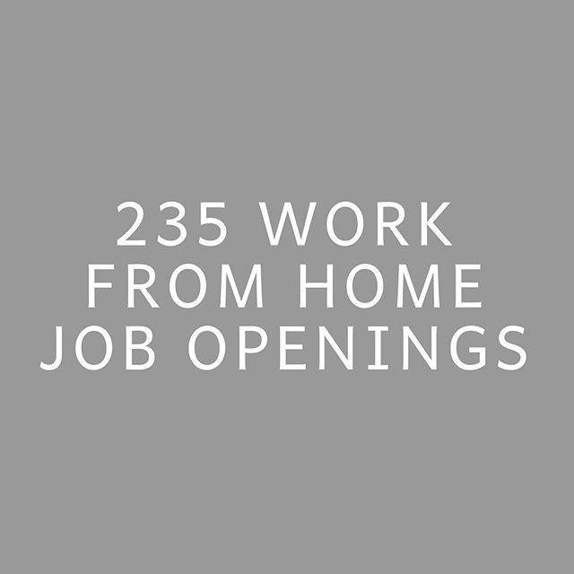 IN APRIL ALONE. 235 work from home job openings were shared with the women enrolled in our course + community during the month of April! 😭🙌🏾 . 111 of those were shared with everyone enrolled, 27 were shared with gals who had previous design experience, 43 with those who've spent years in corporate marketing, 11 with those who had previous email marketing experience, 6 with those who have prior Ads experience, 5 with finance backgrounds, 23 with prior writing experience, 2 with HR backgrounds, 5 with administrative assistant experience & 1 each for photography and real estate gals. 🤩 When women enroll in our community, I immediately have them fill out a form where they share their areas of prior experience, as well as what their goals are for picking up work from home roles! It always feels so fun to get to send job opportunities to specific people based on where their past skills and future interests are. 🙌🏾 .  I'm loving watching the gals in our community get after these roles, as many landed gigs in April too! 🎉