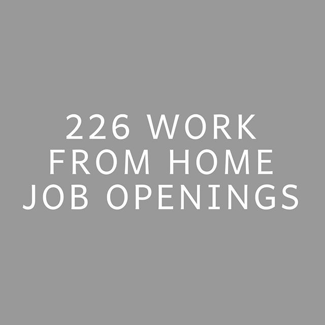 IN SEPTEMBER ALONE! 🎉 226 work from home job openings were shared with the women enrolled in our course + community during the month of September! 😭🙌🏾 . 103 of those were shared with everyone enrolled, 30 were shared with gals who had previous design experience, 16 with those who've spent years in corporate marketing, 6 with those who had previous email marketing experience, 12 with those who have prior Ads experience, 3 with finance backgrounds, 26 with prior writing experience, 11 with HR backgrounds, 4 with administrative assistant experience, 9 with SEO experience, 3 for gals photography backgrounds, & 3 with gals who have an interest in faith-based job opps! 🤩 . When women enroll in our community, I immediately have them fill out a form where they share their areas of prior experience, as well as what their goals are for picking up work from home roles! It always feels so fun to get to send job opportunities to specific people based on where their past skills and future interests are. . I'm loving watching the gals in our community get after these roles, as some landed gigs in September too! 🎉