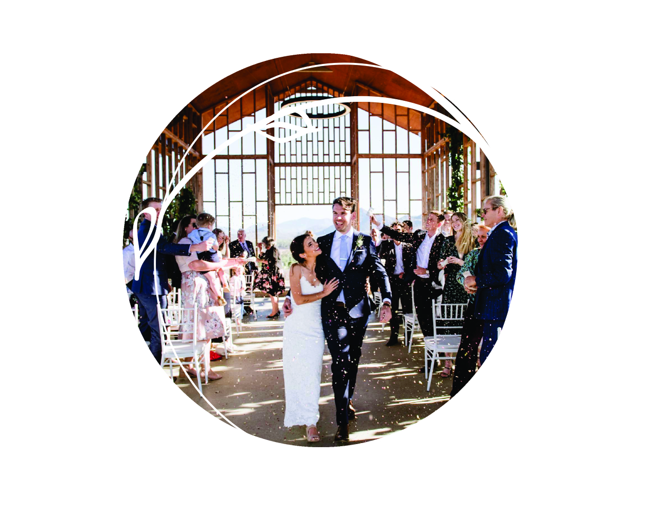 The perfect first impression    I am the first person your family and friends will meet on your wedding day. A big smile, warm welcome, and loving vibe always works a treat to warm up your guests for your big arrival.