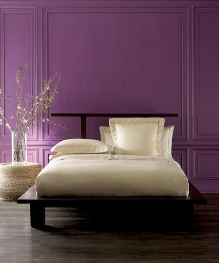 Ultra-Violet Accent Wall**