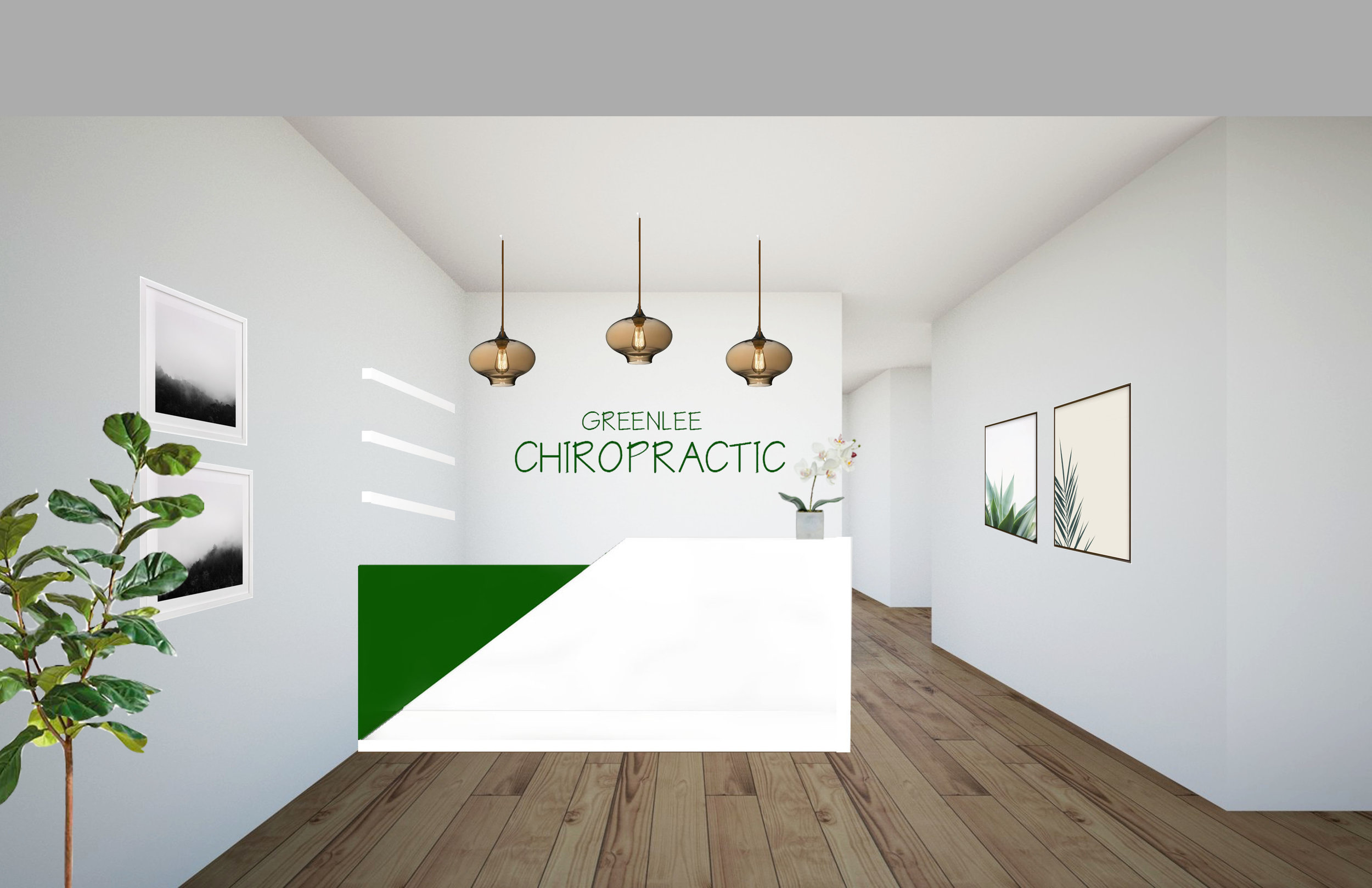 Chiropractic Office - This space can be found in San Diego, CA. This client wanted to create a comfortable, yet modern space for her clients to receive care. We brought in lots of plants, natural lighting, and modern elements. Actual photos to come.VIEW ALL PHOTOS