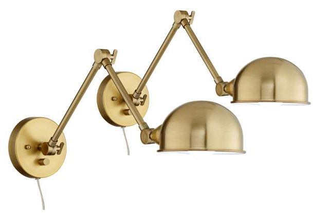 gold sconce wall light.JPG