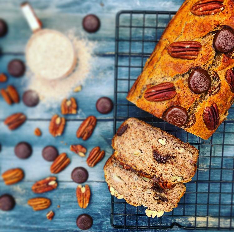 Banana Pecan & Chocolate Bread