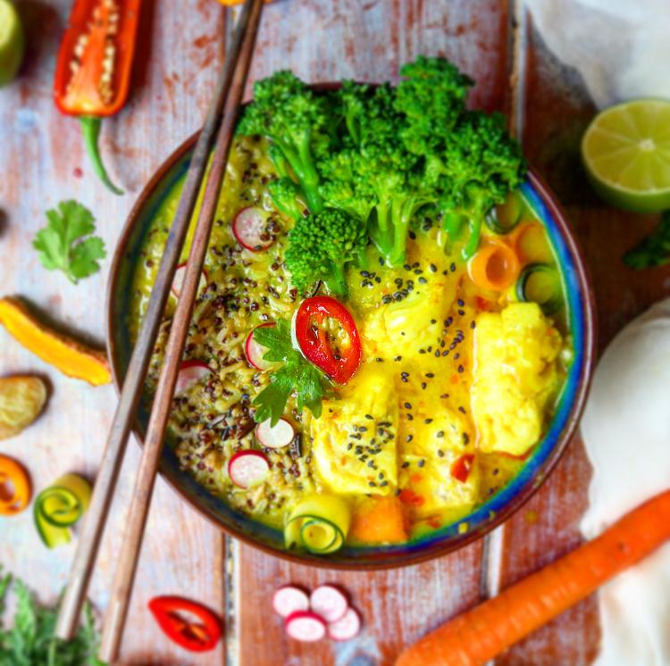 Lemongrass & Turmeric Coconut Fish Curry