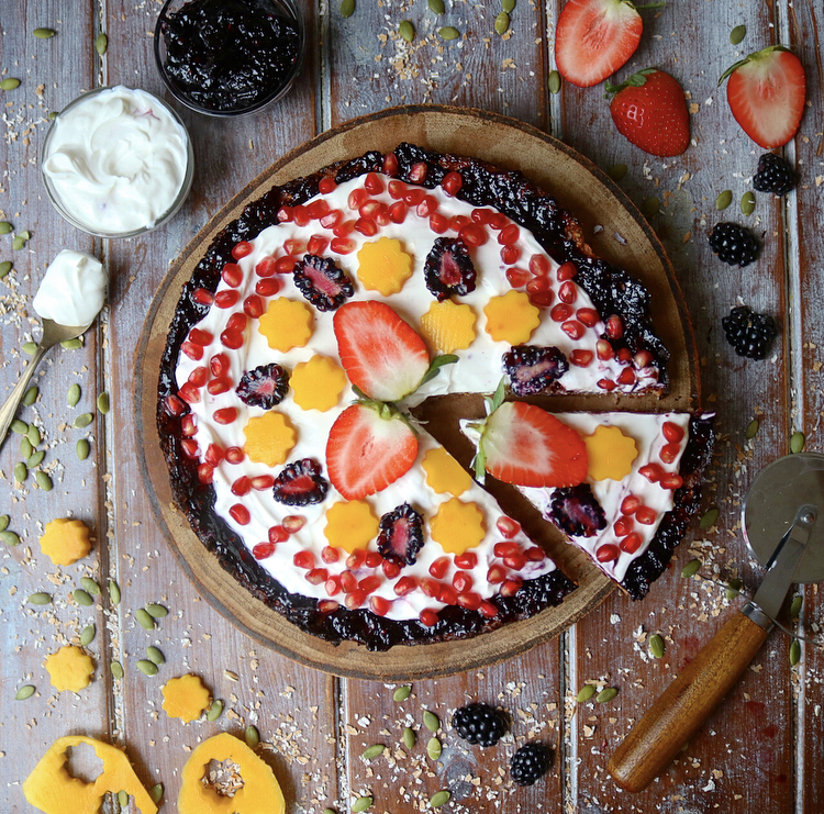 Breakfast Fruit Pizza