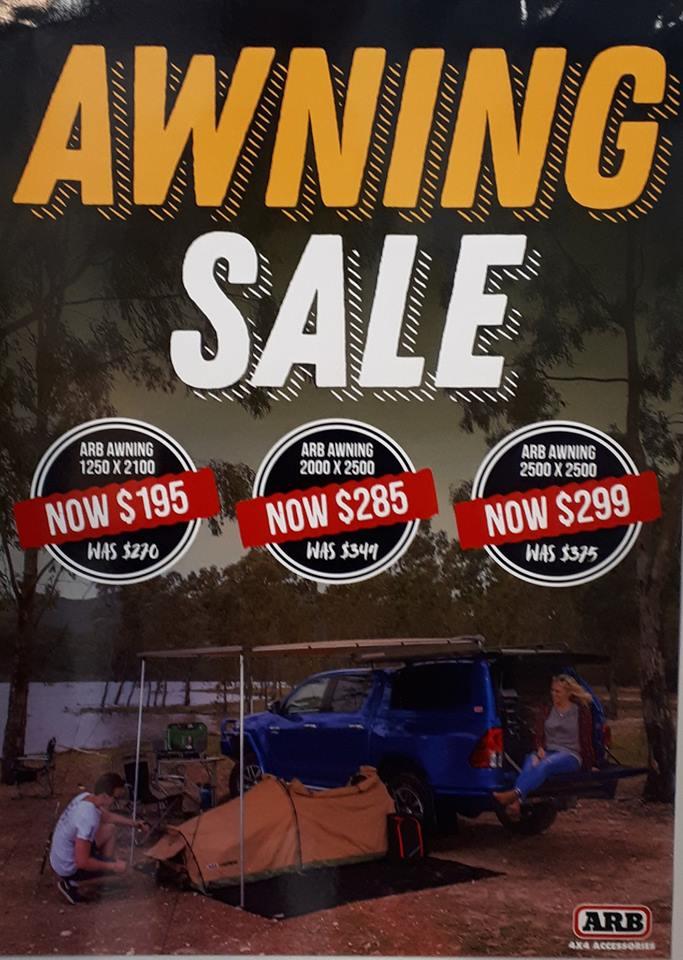 Awning Sale
