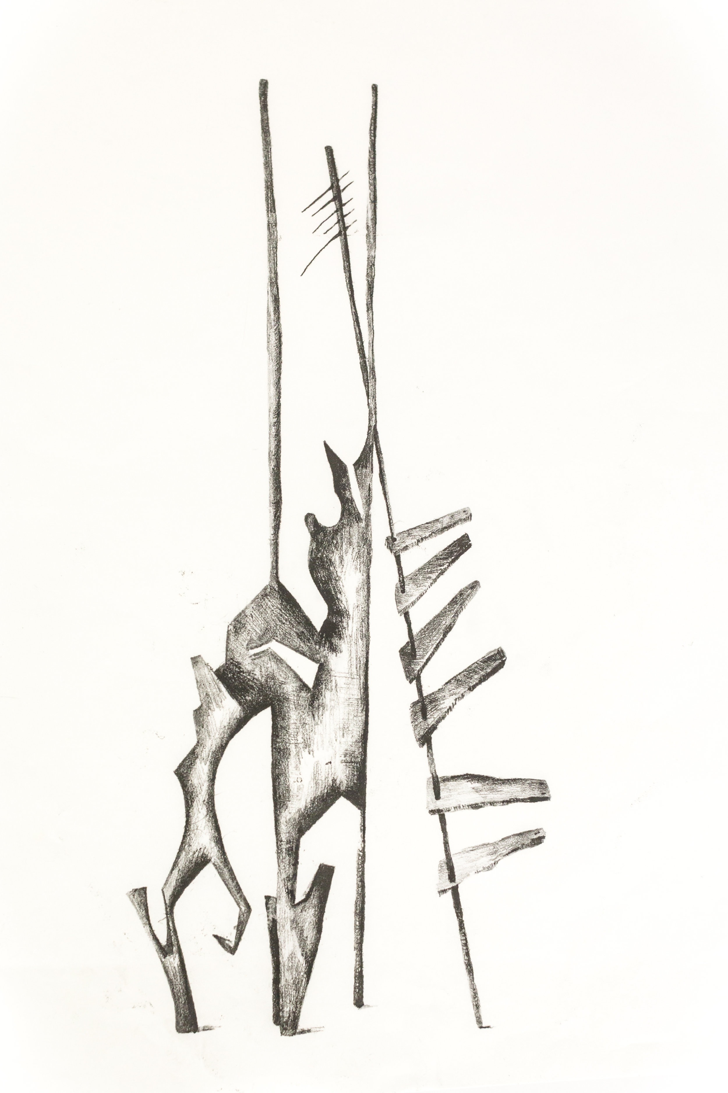 'Untitled Sculpture Drawing vii'