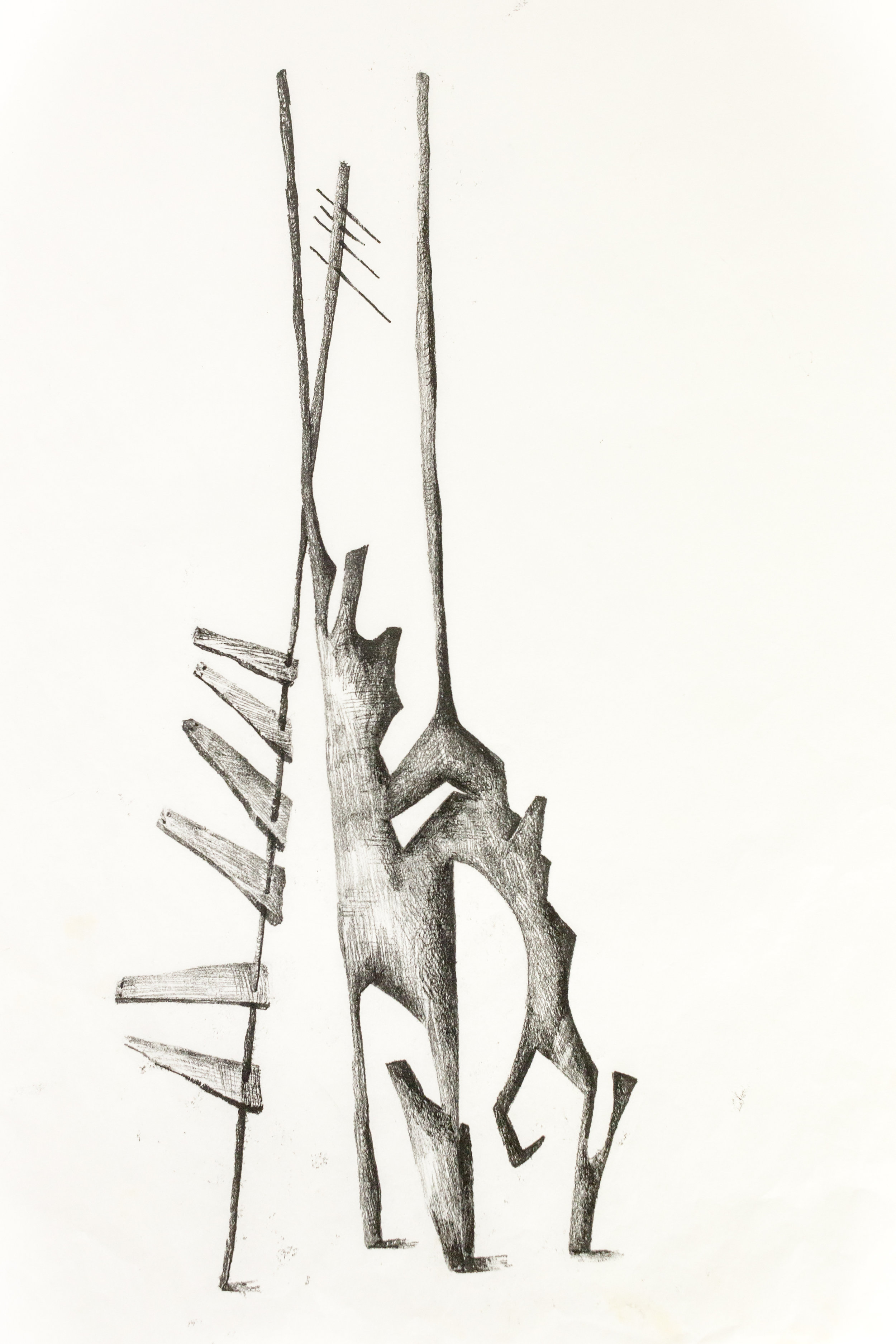 'Untitled Sculpture Drawing vi'