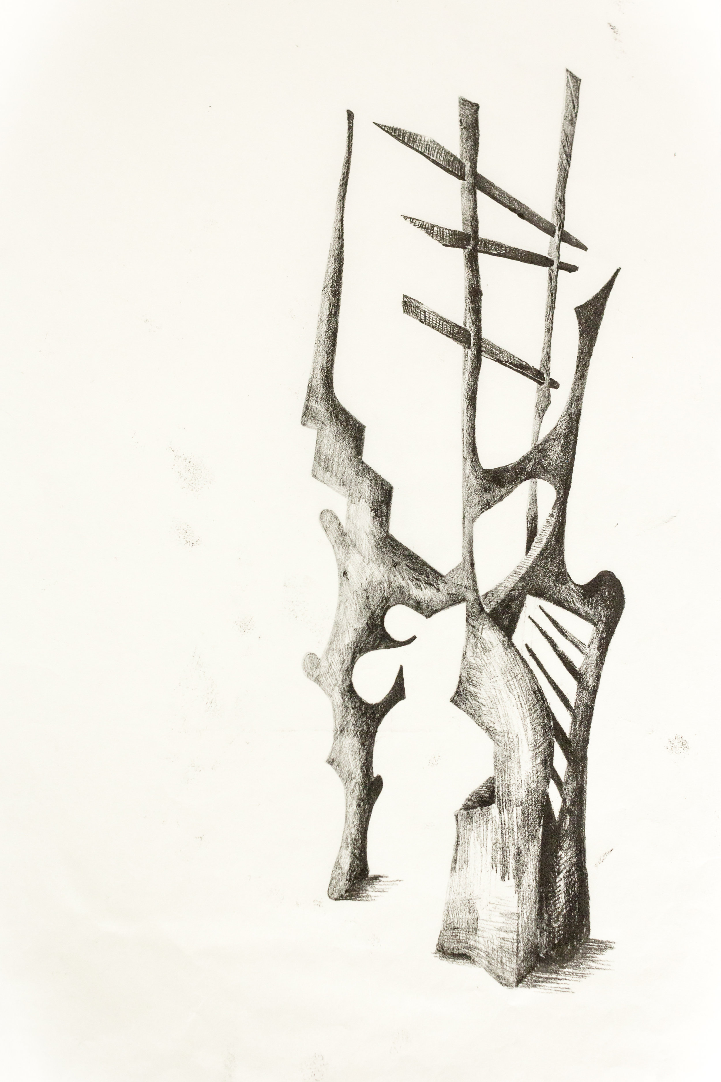 'Untitled Sculpture Drawing viii'