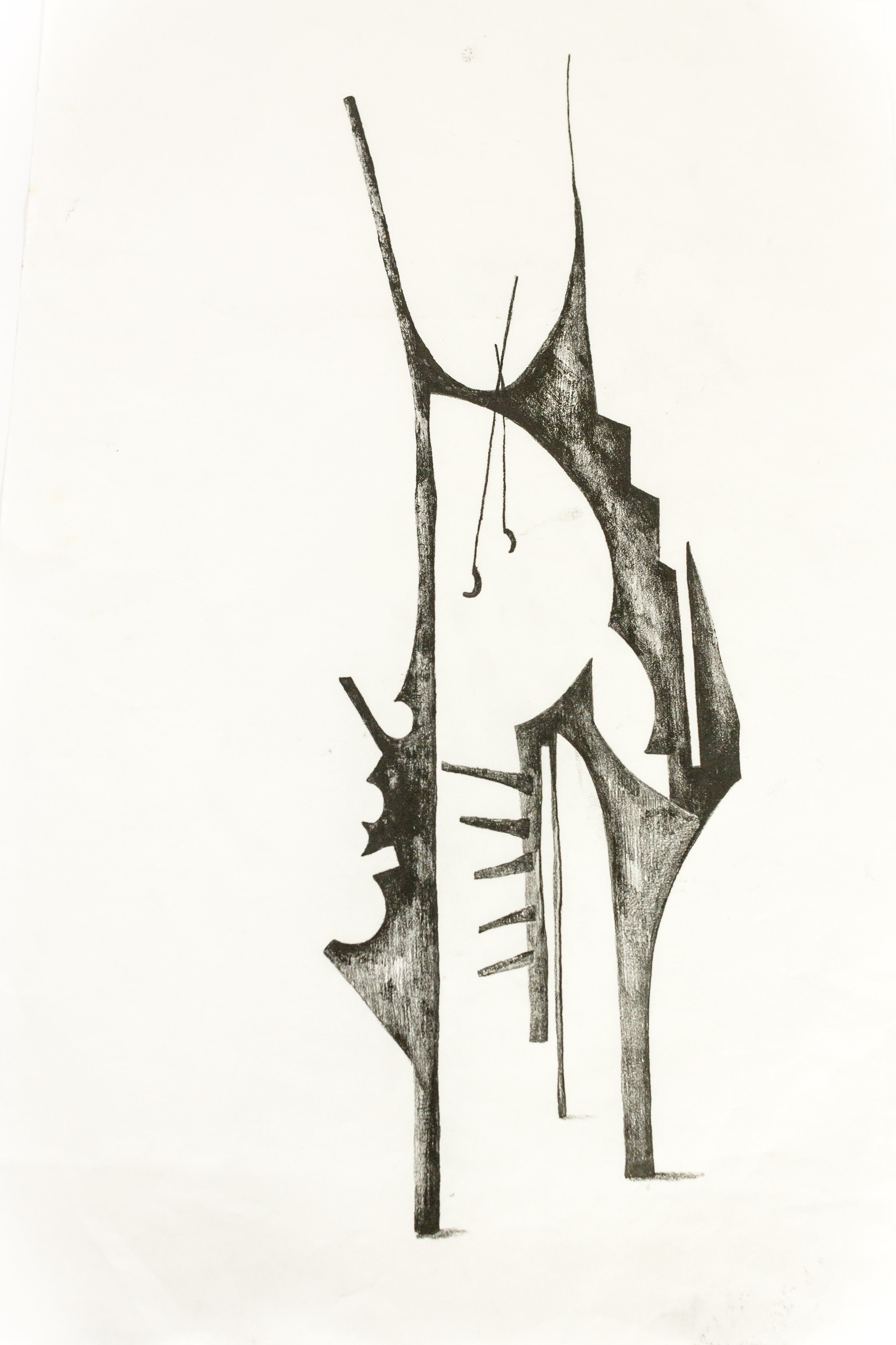 'Untitled Sculpture Drawing iii'