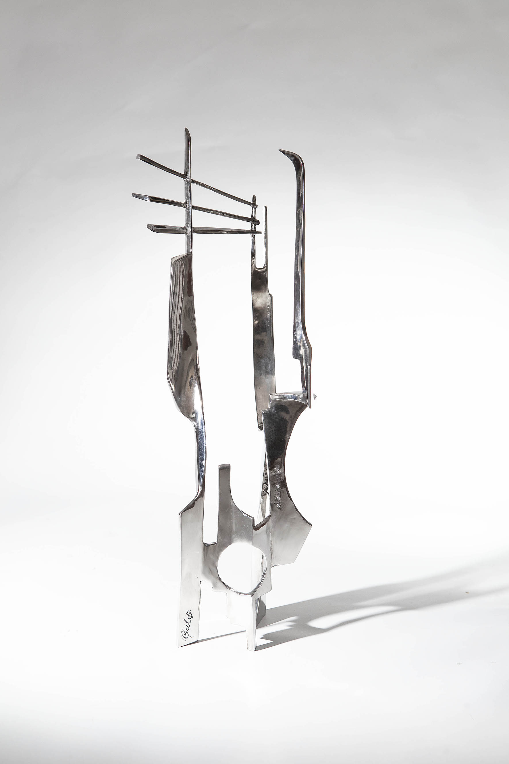 'Collected Void' Stainless Steel, 2018