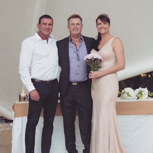 Bianca and Kev #davidcareymarriagecelebrant #love #marriage