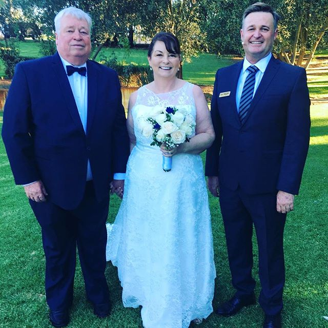Kit and Kathy #davidcareymarriagecelebrant #love #marriage