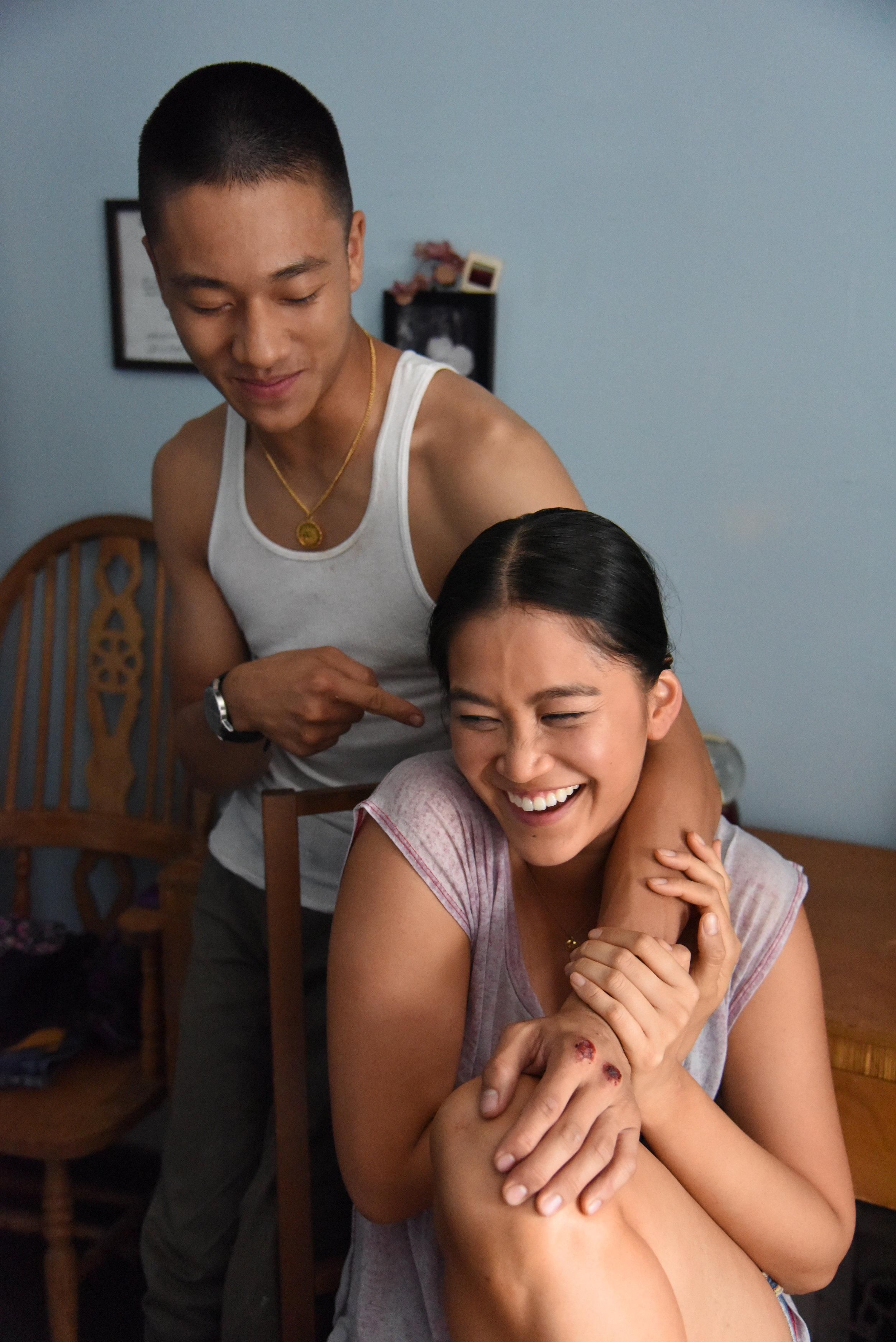 Brandon Soo Hoo  and  Dianne Doan  as siblings Dylan and Rose.