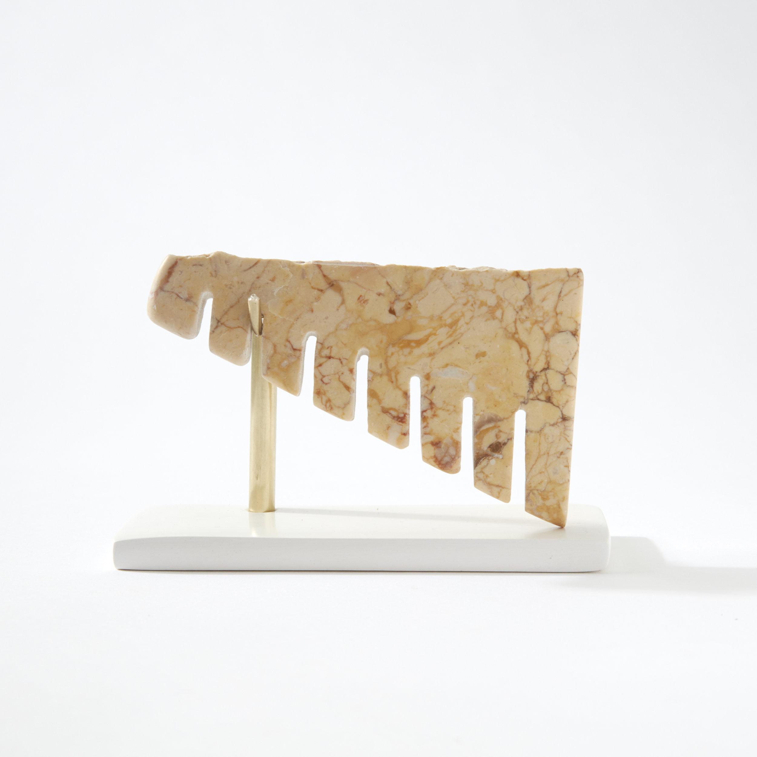 Comb #11, marble, 2017