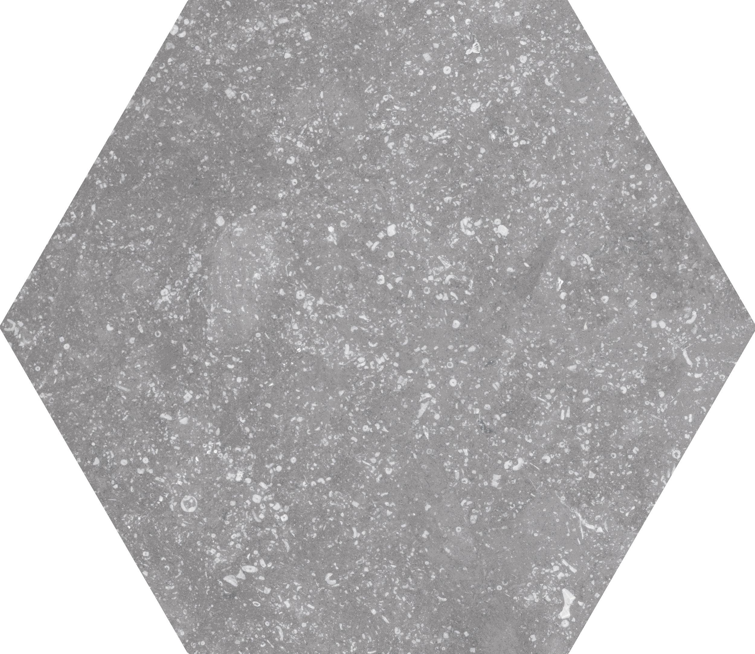 Coralstone Hexagon Grey