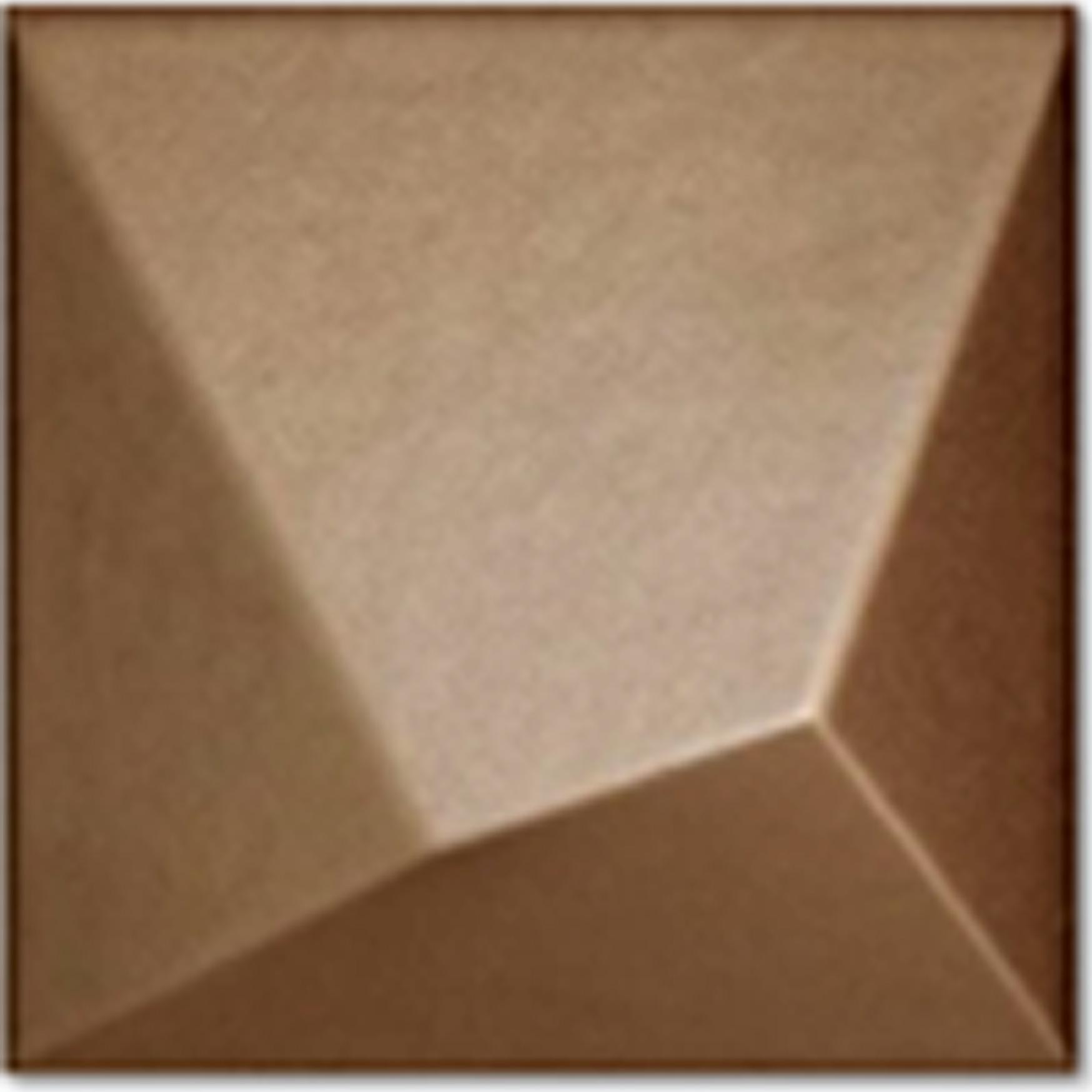 Optic Bronce 14.8x14.8 cm