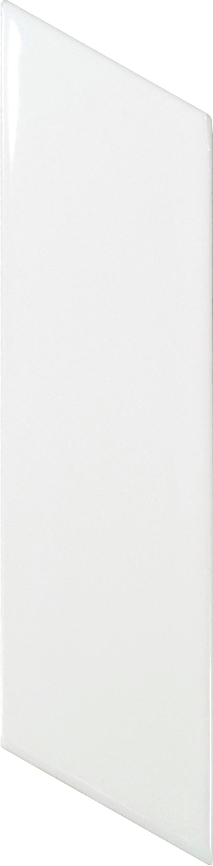 Chevron Wall White Brillo Left 5.2x18 cm