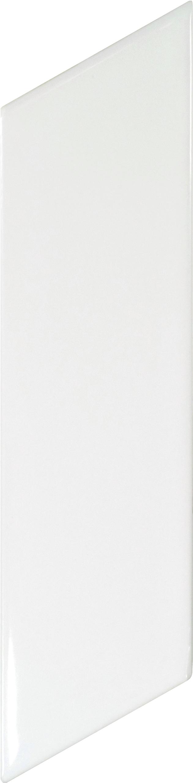 Chevron Wall White Brillo Right 5.2x18 cm
