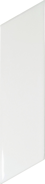 Chevron Wall White Matt Right 5.2x18 cm