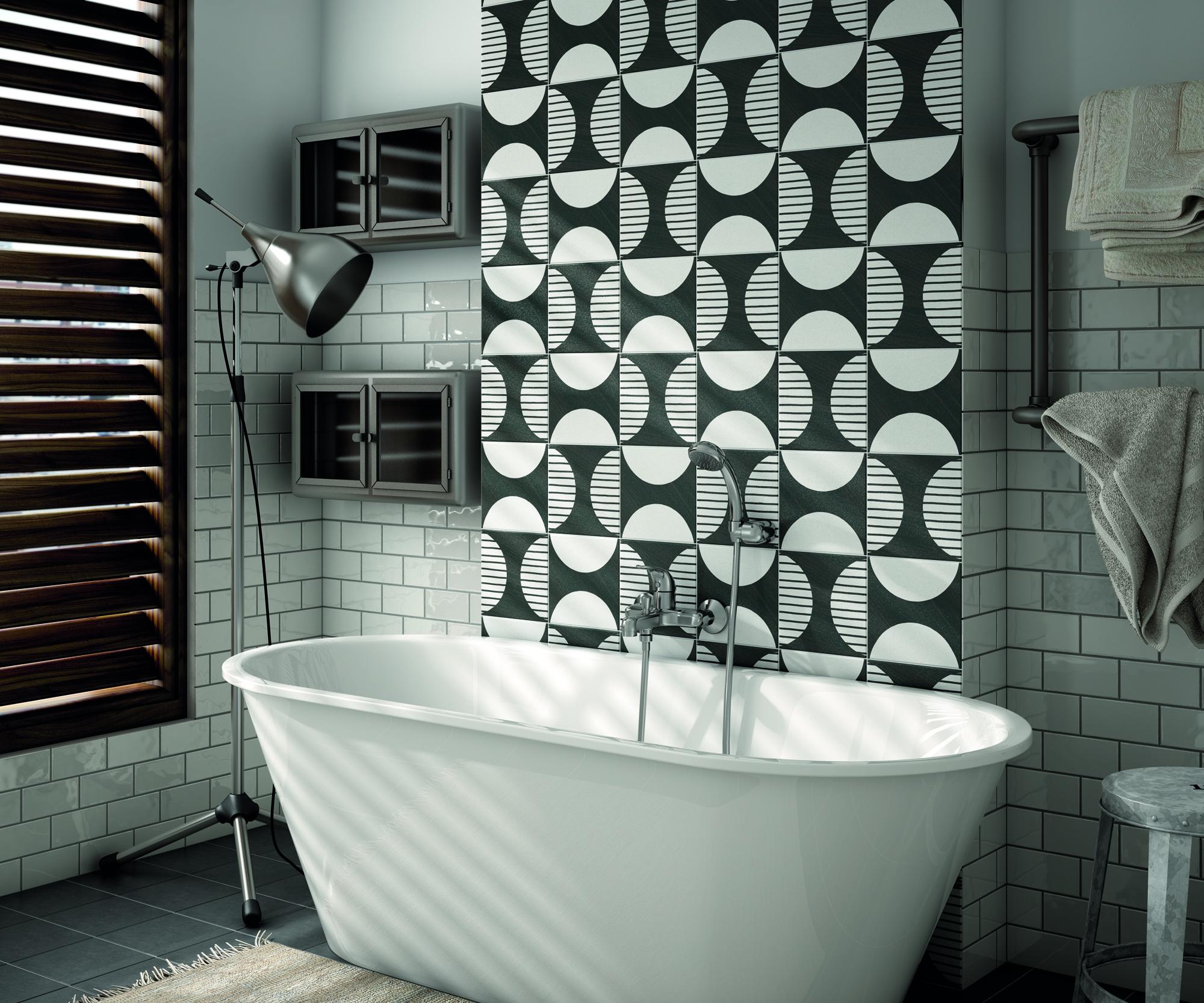Caprice Deco Moonline 20x20 cm Floor & Wall Tile/Porcelain/R9