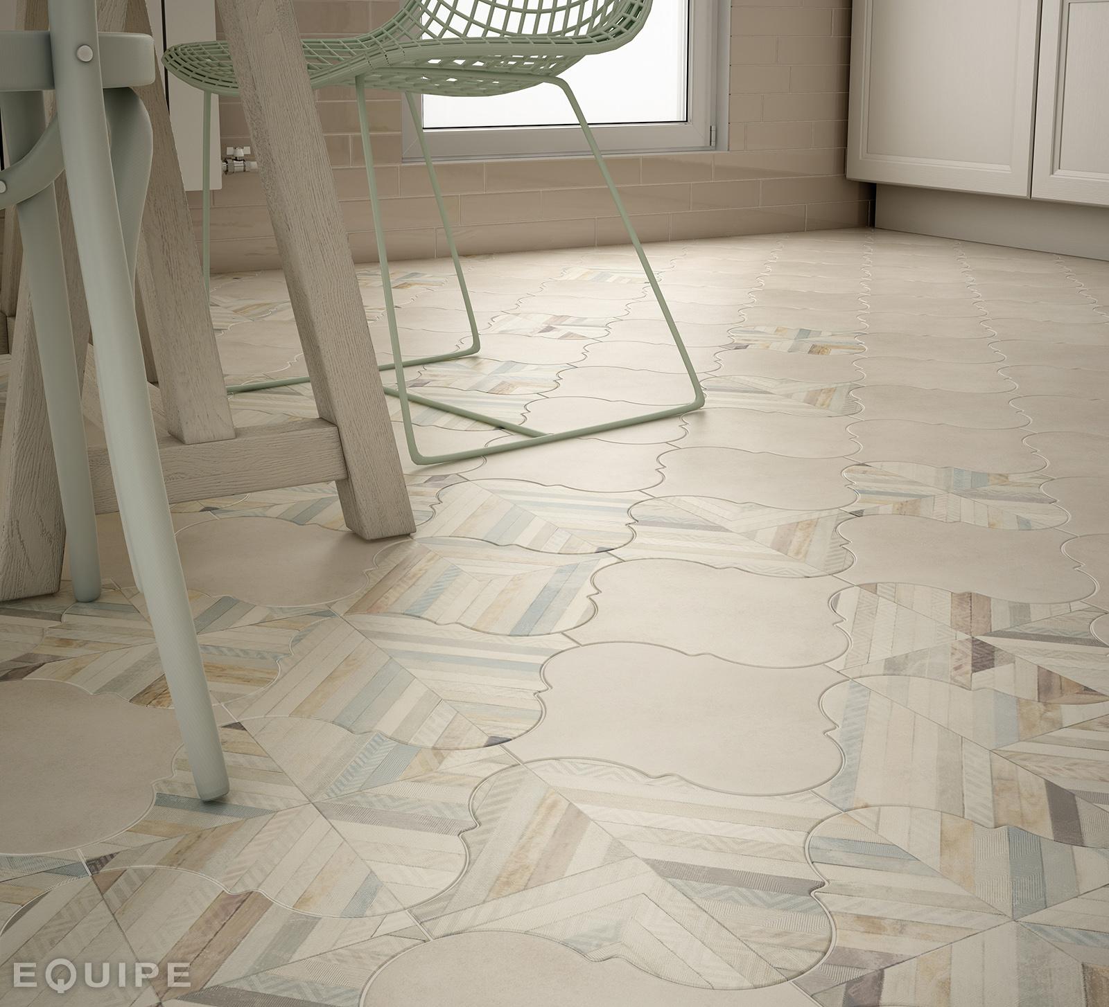 Curvytile 26.5x26.5 cm Floor & Wall tile/Porcelain/R9