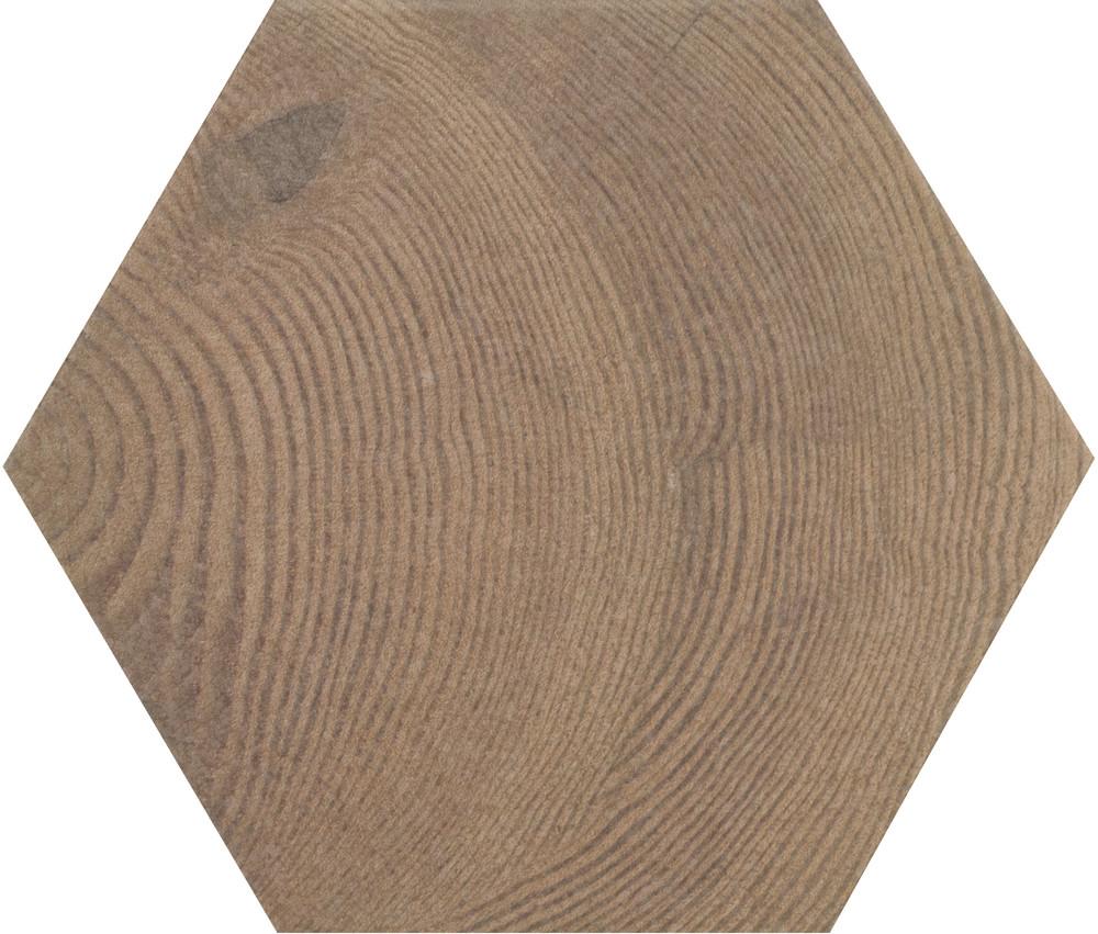 Hexawood Old 17.5x20 cm  Floor & Wall Tile / Porcelain / R10 / V2