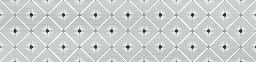 Dunas Mantille Grey 6x24 cm