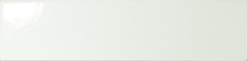 Dunas White Gloss 6x24 cm  Wall tile / White Body
