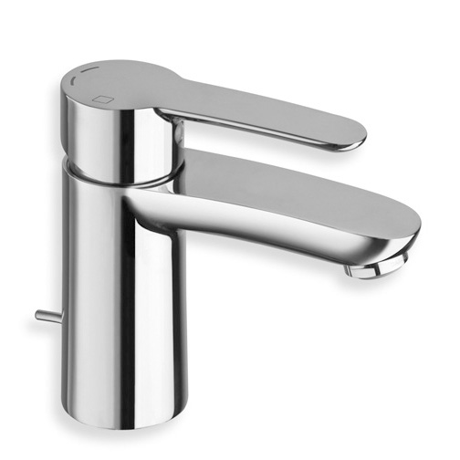 "ND 22151  Available in Chrome color. Accepts indent orders for other colors.  Basin mixer with 1""1/4 pop up waste"